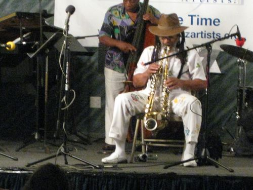 George Braith a the Justice for Jazz Artists Jam