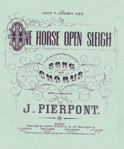 One Horse Open Sleigh(Jingle Bells)
